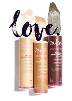 cake dry shampoo