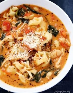 tuscan soup - 1