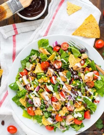 bbq chicken salad2