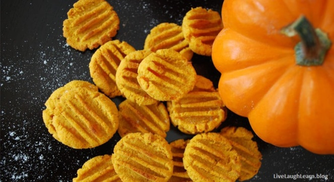 pumpkin dog treats 1