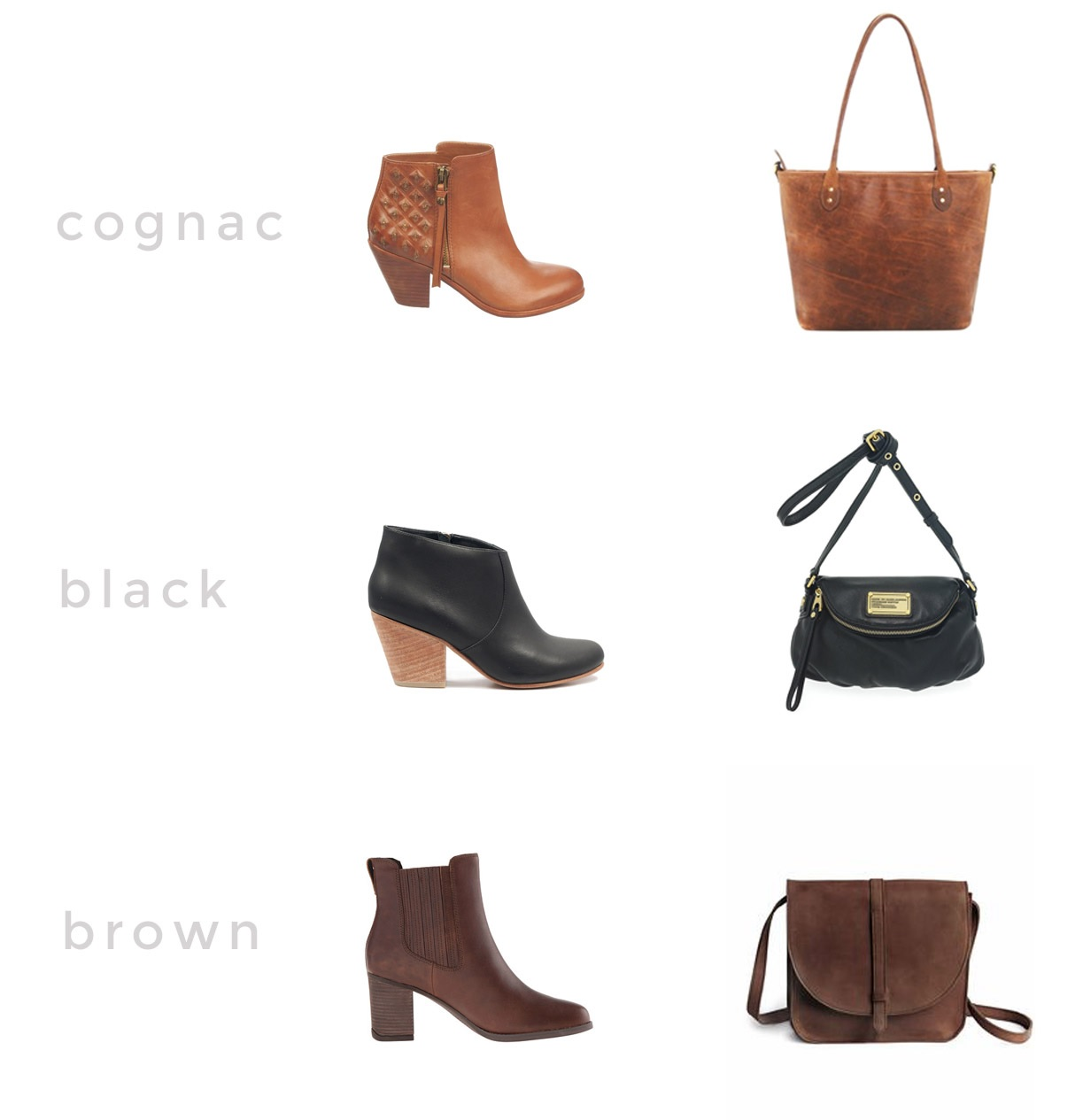 shoes and bag