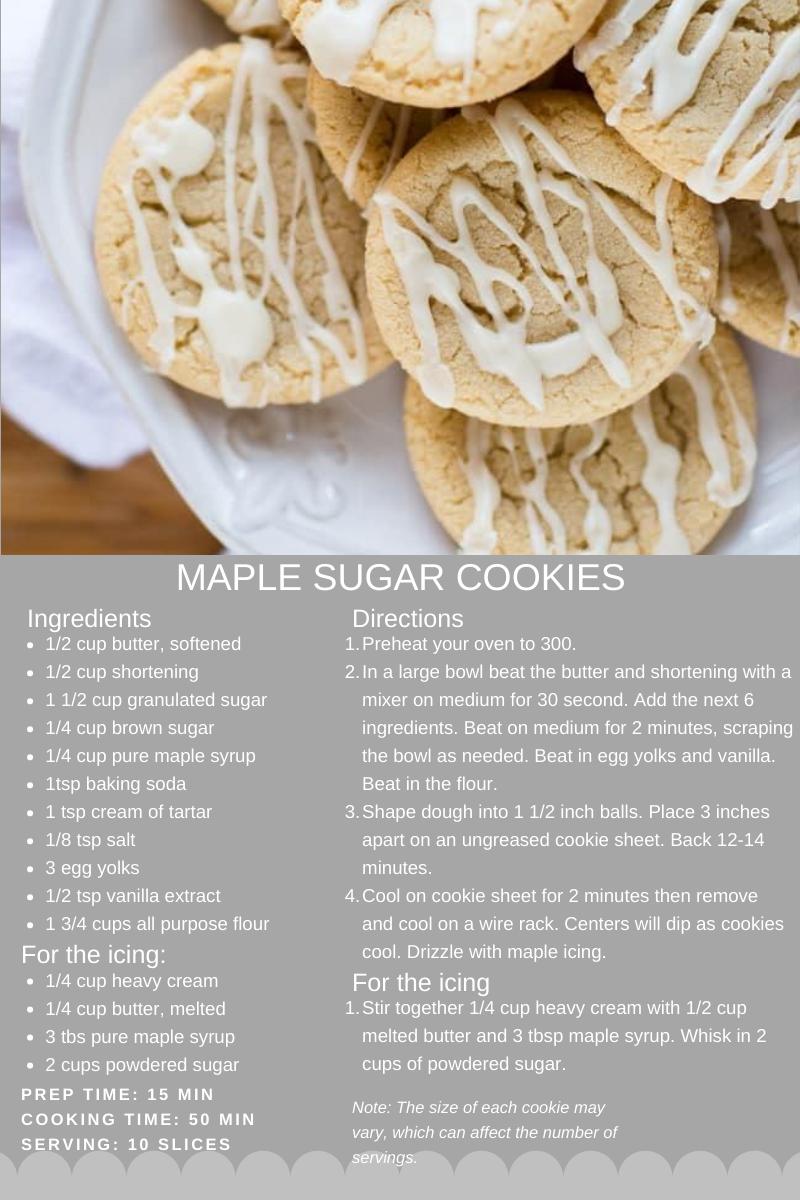 sugar cookie card